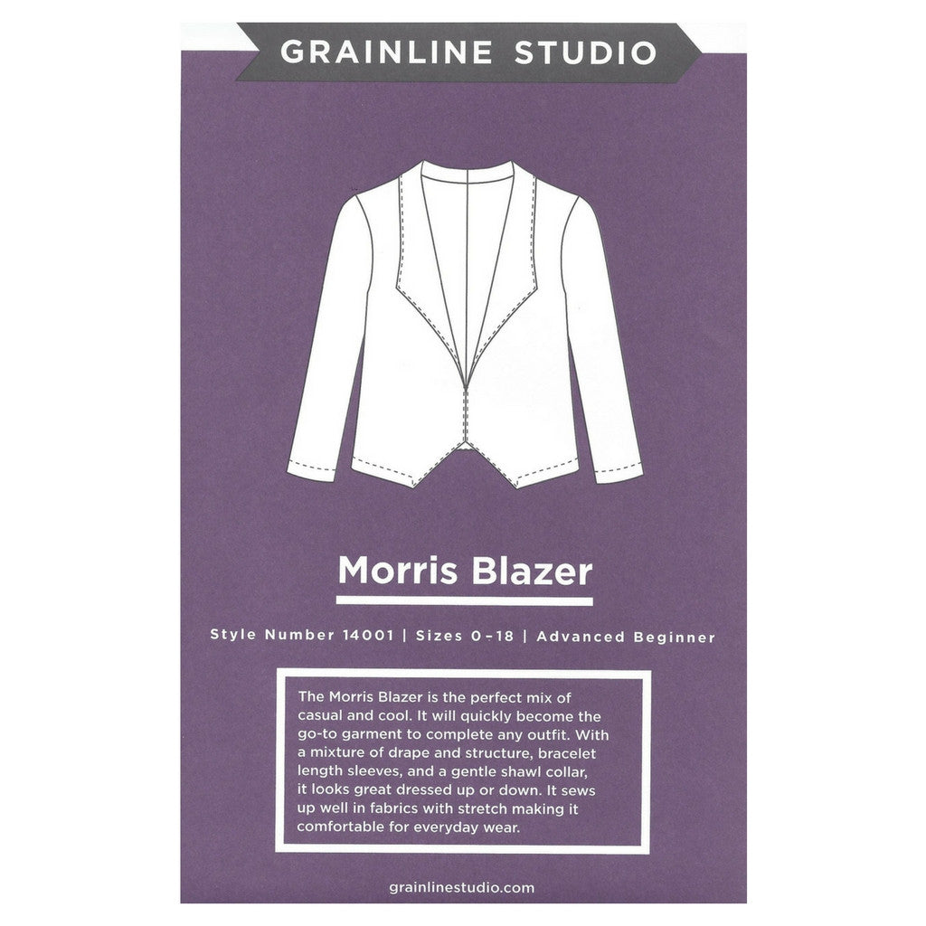 Grainline Studio Morris Blazer - Patterns - Style Maker Fabrics