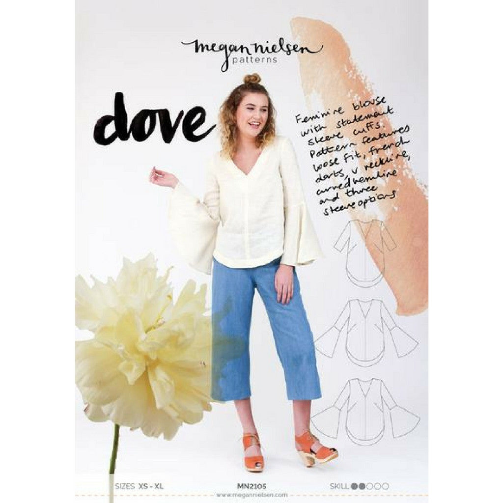 Megan Nielsen Patterns Dove Blouse - Sold Out - Style Maker Fabrics