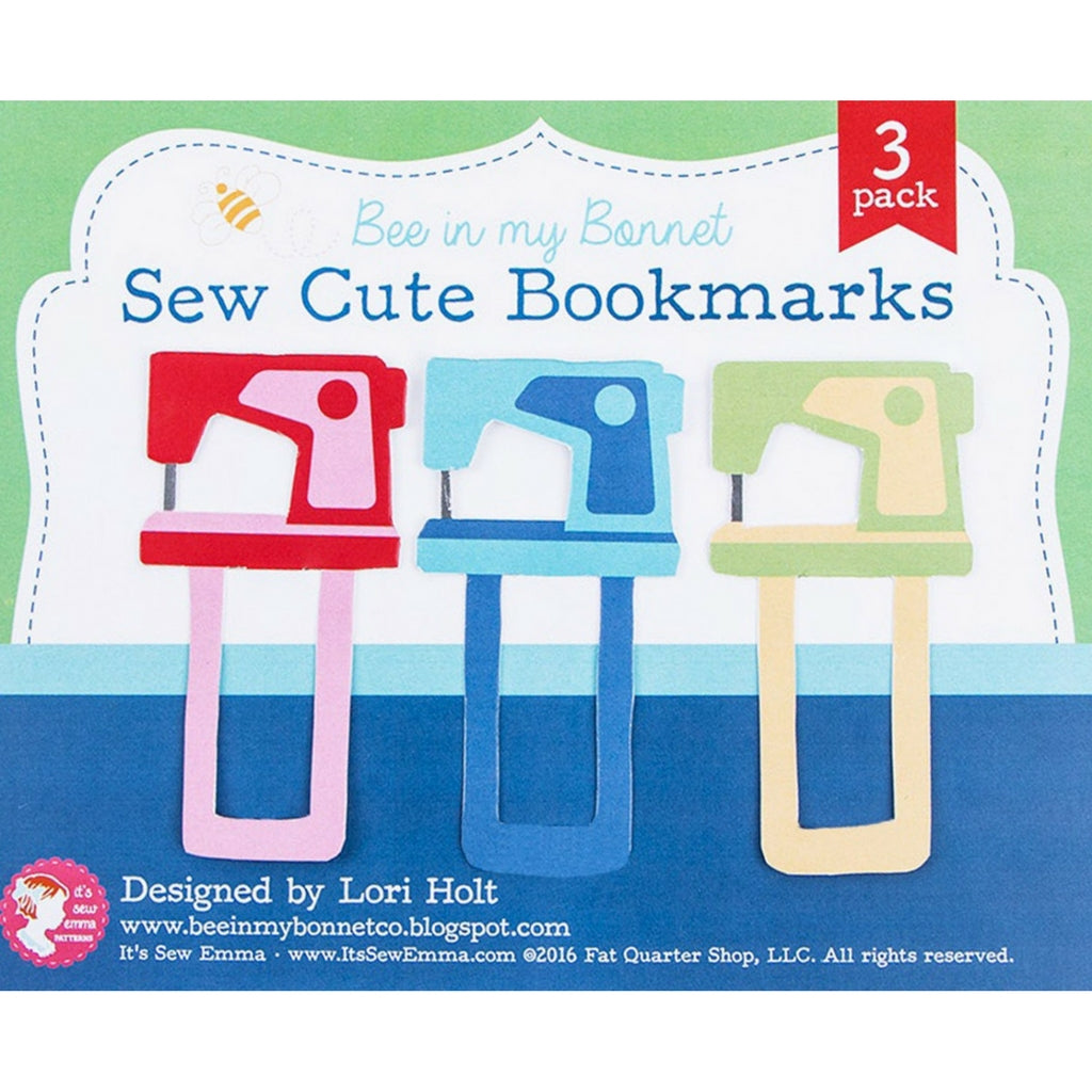 Sew Cute Machine Bookmarks - Sold Out - Style Maker Fabrics
