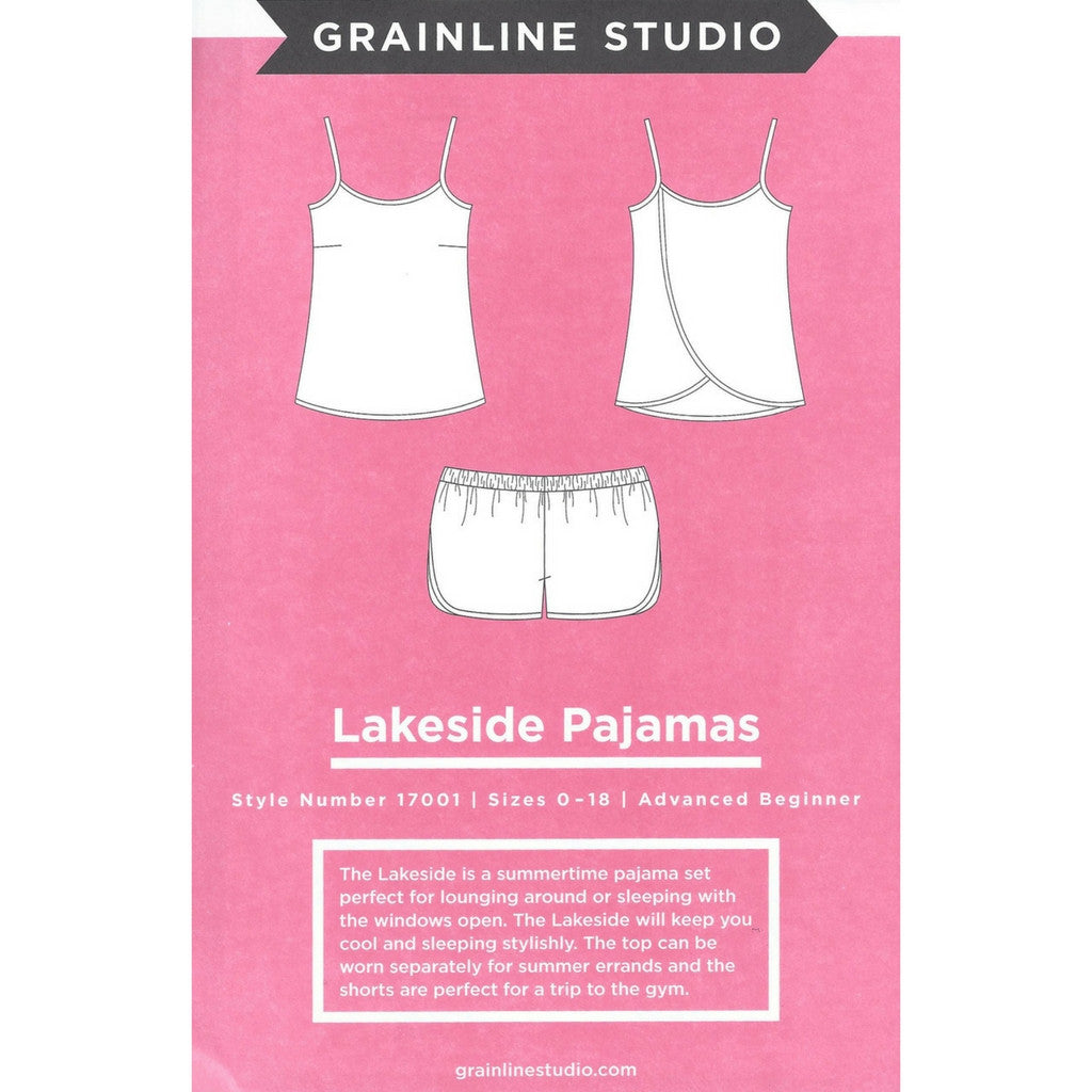Grainline Studio Lakeside Pajamas - Patterns - Style Maker Fabrics
