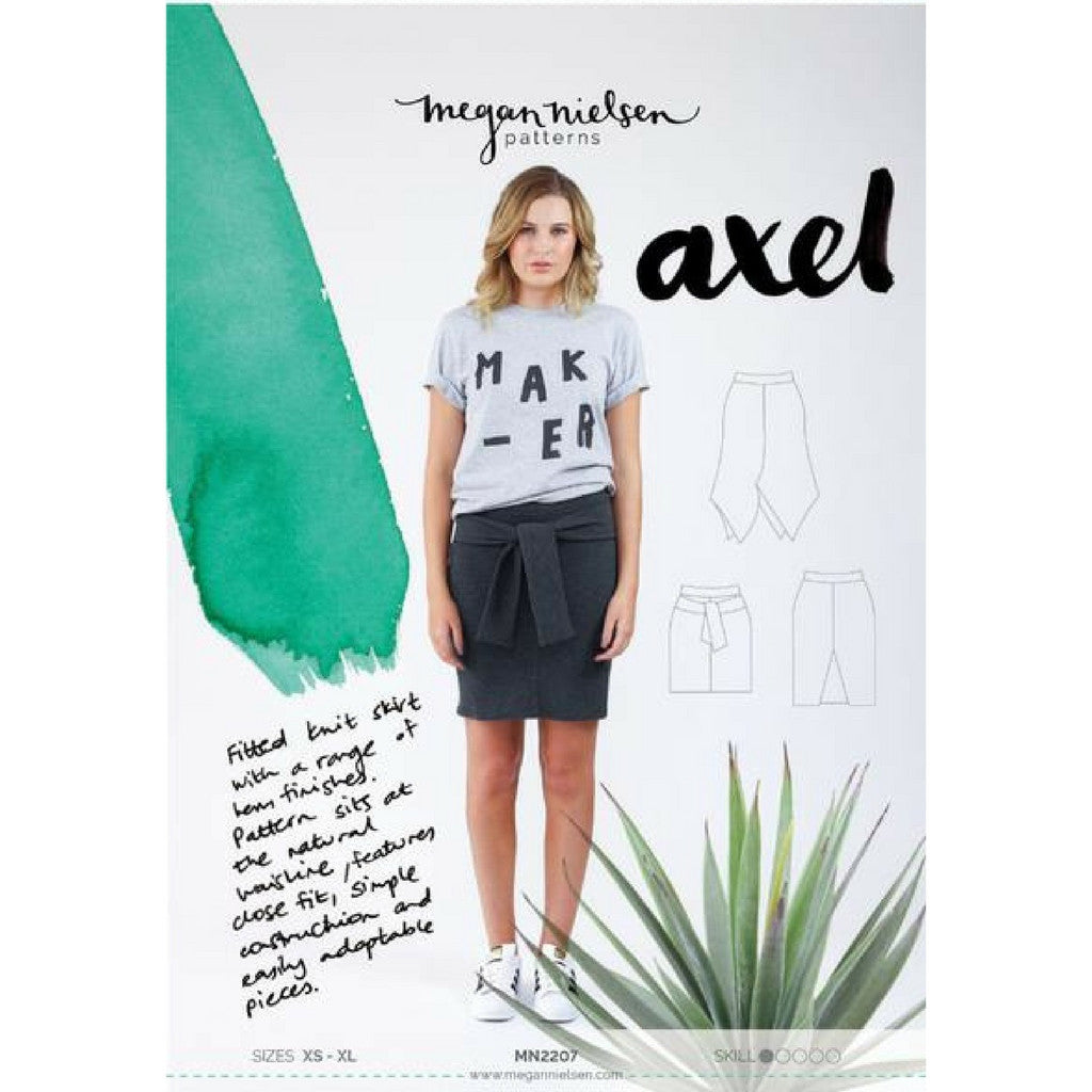 Megan Nielsen Patterns Axel Skirt - Patterns - Style Maker Fabrics
