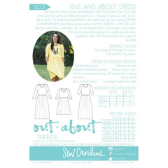 Sew Caroline Out and About Dress - Sold Out - Style Maker Fabrics
