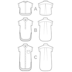 Closet Core Patterns Kalle Shirt - Patterns - Style Maker Fabrics