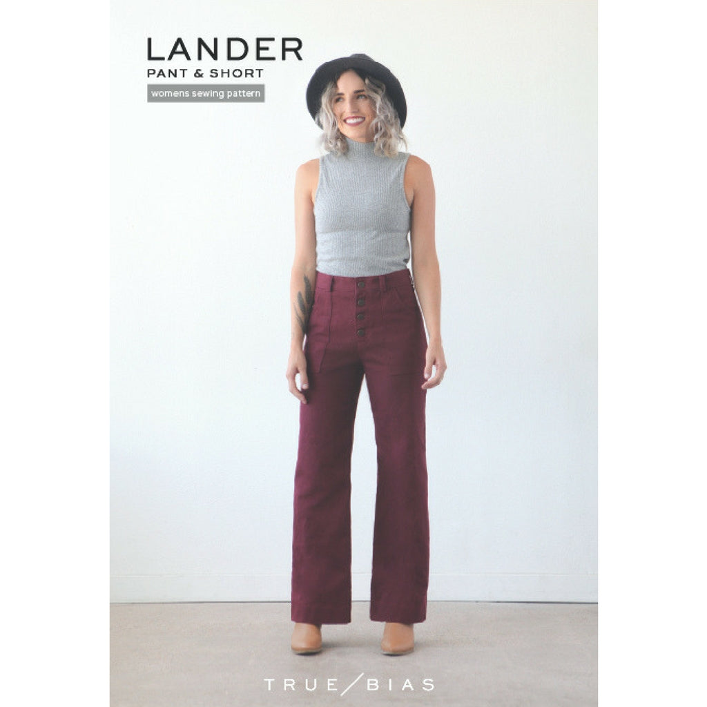 True Bias Patterns Lander Pant & Short - Patterns - Style Maker Fabrics