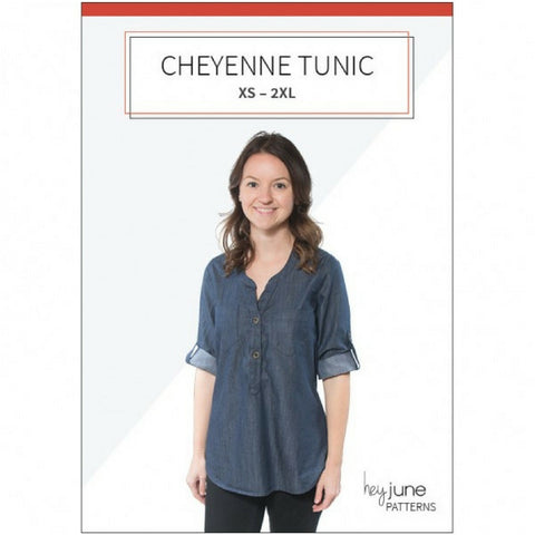 Hey June Patterns Cheyenne Tunic