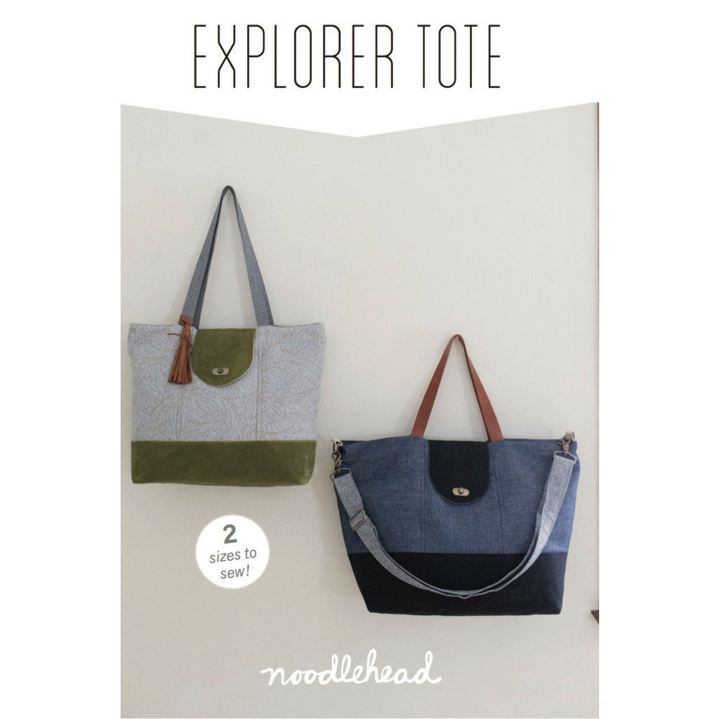 Noodlehead Explorer Tote - Patterns - Style Maker Fabrics