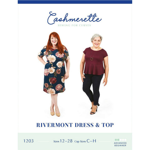 Cashmerette Sewing Patterns Rivermont Dress & Top