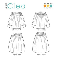 Made by Rae Cleo Skirt - Sold Out - Style Maker Fabrics