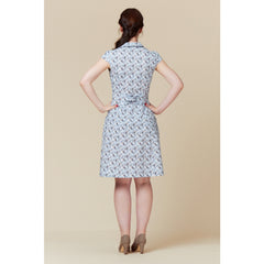 Deer and Doe Patterns Bleuet Dress - Sold Out - Style Maker Fabrics