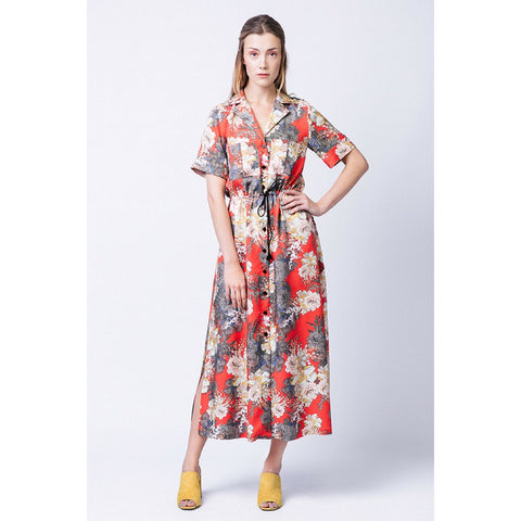 Named Reeta Midi Shirt Dress