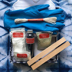Shibori Natural Indigo Dye Kit - Sale - Style Maker Fabrics