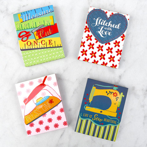 Sew Much Fun Pocket Notepads