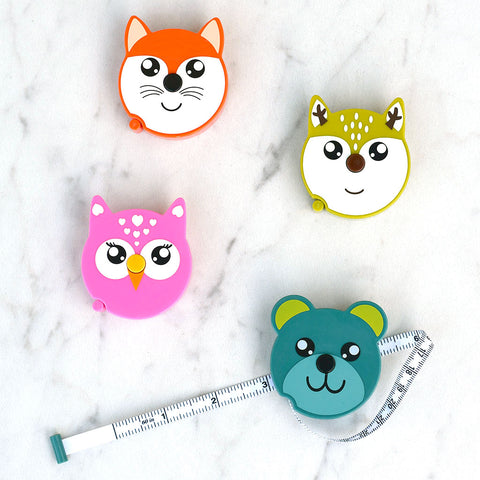Forest Animal Tape Measure