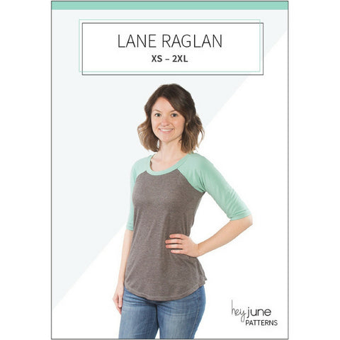 Hey June Patterns Lane Raglan