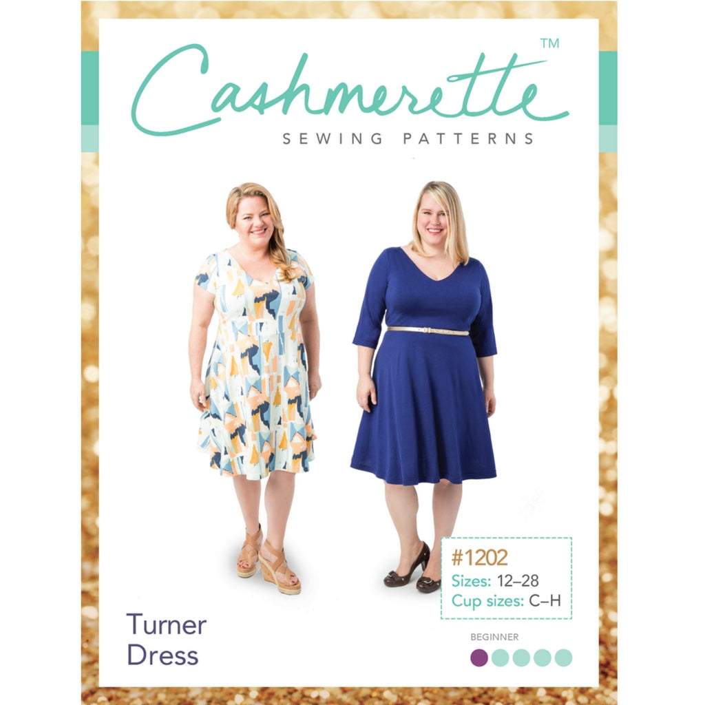 Cashmerette Sewing Patterns Turner Dress - Sold Out - Style Maker Fabrics