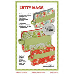 By Annie Ditty Bags - Patterns - Style Maker Fabrics