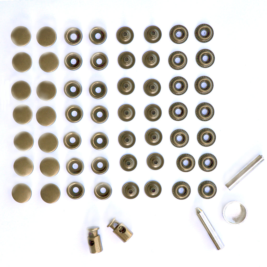 Jacket Hardware Kit - Notions - Style Maker Fabrics
