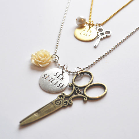 Style Maker Charm Necklace