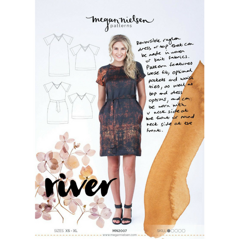 Megan Nielsen Patterns River Dress & Top