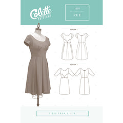 Colette Patterns Rue Dress - Sold Out - Style Maker Fabrics