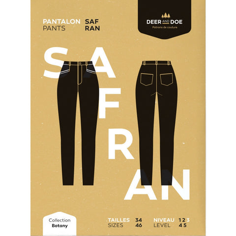 Deer and Doe Patterns Safran Pants