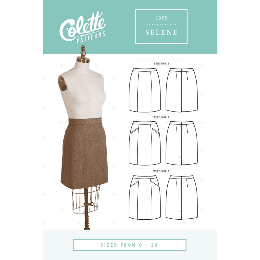 Colette Patterns Selene Skirt - Sold Out - Style Maker Fabrics