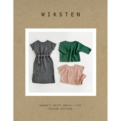Wiksten Shift Dress + Top - Patterns - Style Maker Fabrics