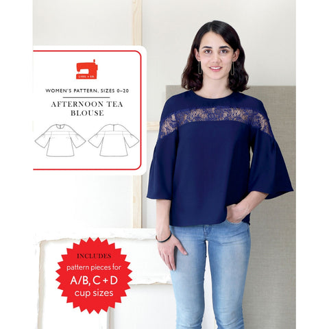 Liesl + Co. Afternoon Tea Blouse