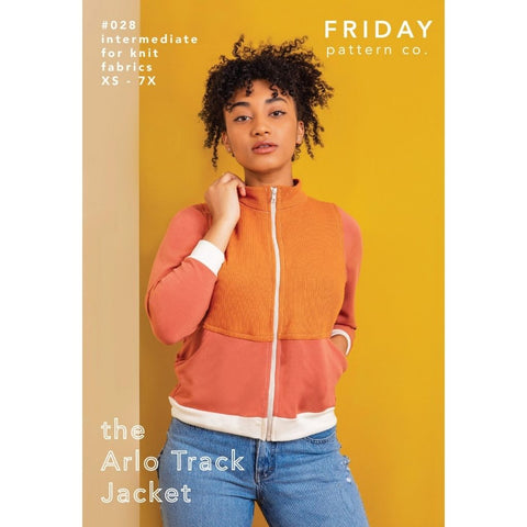 Friday Pattern Co. Unisex Arlo Track Jacket