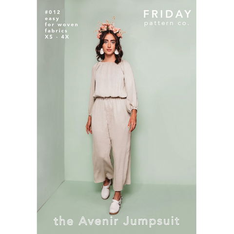 Friday Pattern Co. Avenir Jumpsuit