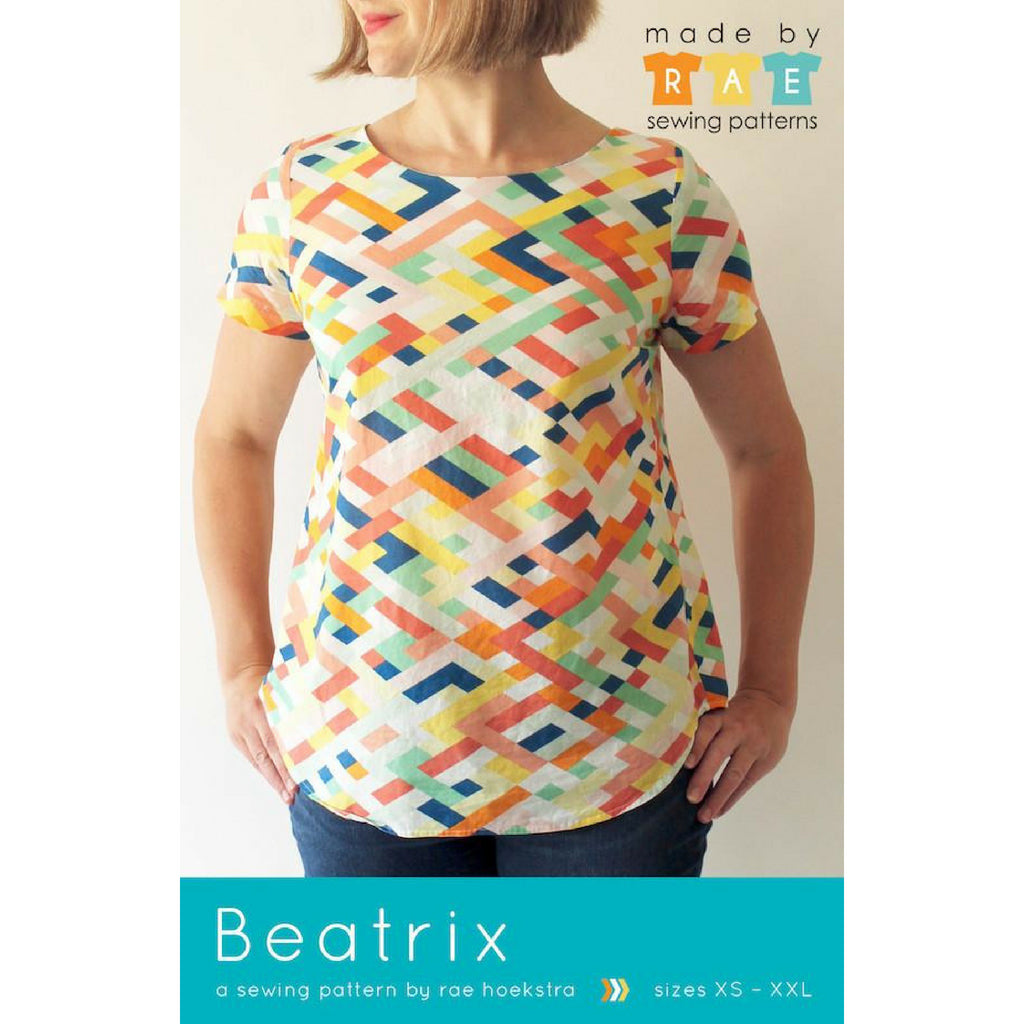 Made by Rae Beatrix Pullover Top - Patterns - Style Maker Fabrics