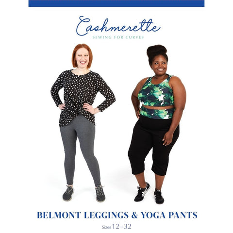 Cashmerette Sewing Patterns Belmont Leggings & Yoga Pants