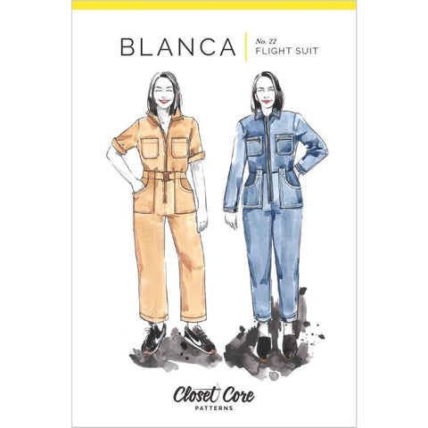 Closet Core Patterns Blanca Flight Suit