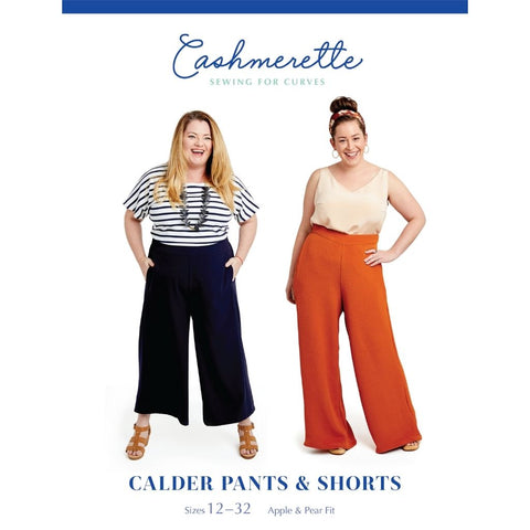 Cashmerette Sewing Patterns Calder Pants & Shorts