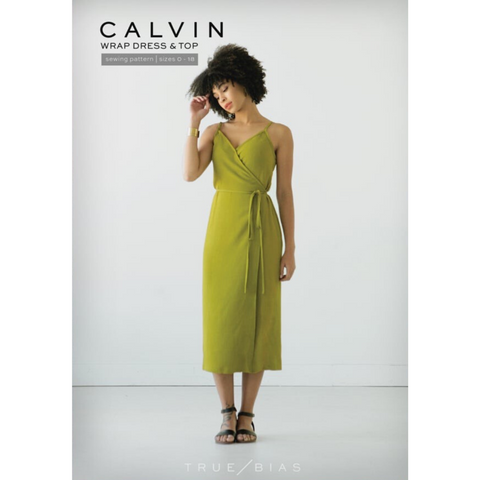 True Bias Patterns Calvin Wrap Dress & Top