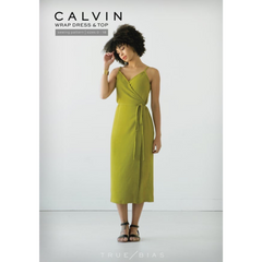 True Bias Patterns Calvin Wrap Dress & Top - Patterns - Style Maker Fabrics