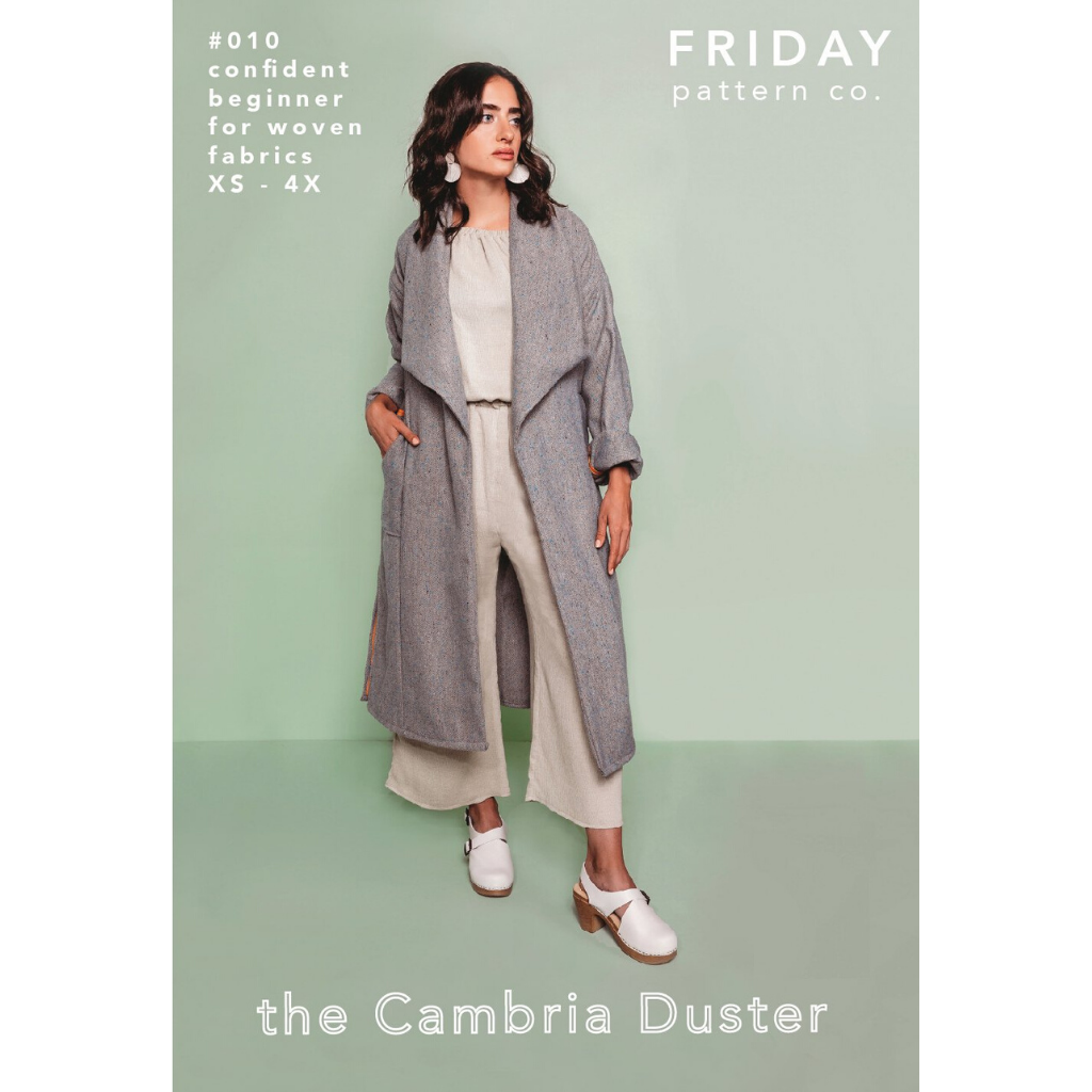 Friday Pattern Co. Cambria Duster - Patterns - Style Maker Fabrics