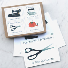 Embellished Sewing Note Cards - Sold Out - Style Maker Fabrics