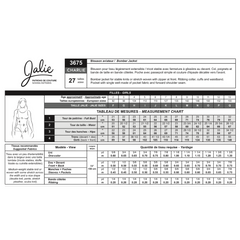 Jalie Sewing Patterns Charlie Bomber Jacket - Patterns - Style Maker Fabrics