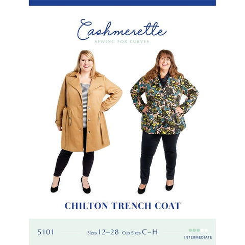 Cashmerette Sewing Patterns Chilton Trench Coat