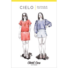 Closet Core Patterns Cielo Top & Dress - Patterns - Style Maker Fabrics