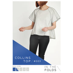 In the Folds Collins Top - Patterns - Style Maker Fabrics