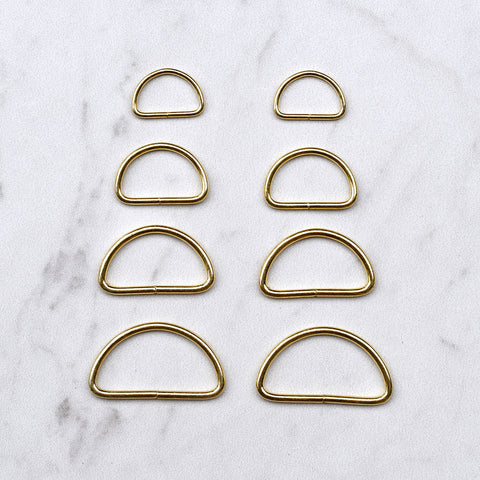 Metal D-Ring Set