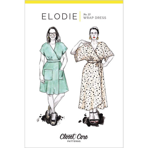 Closet Core Patterns Elodie Wrap Dress