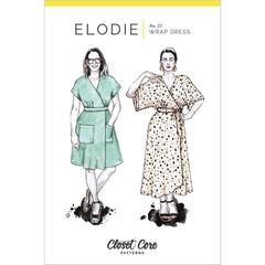 Closet Core Patterns Elodie Wrap Dress - Patterns - Style Maker Fabrics