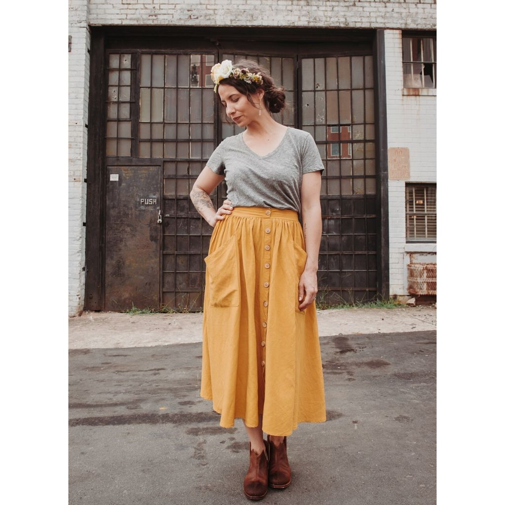 Sew Liberated Estuary Skirt - Patterns - Style Maker Fabrics