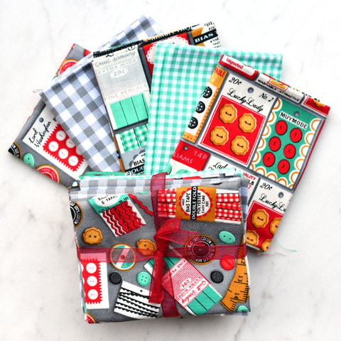Sewing Themed Fabric Pack