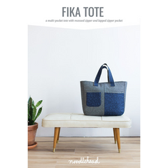 Noodlehead Fika Tote - Patterns - Style Maker Fabrics