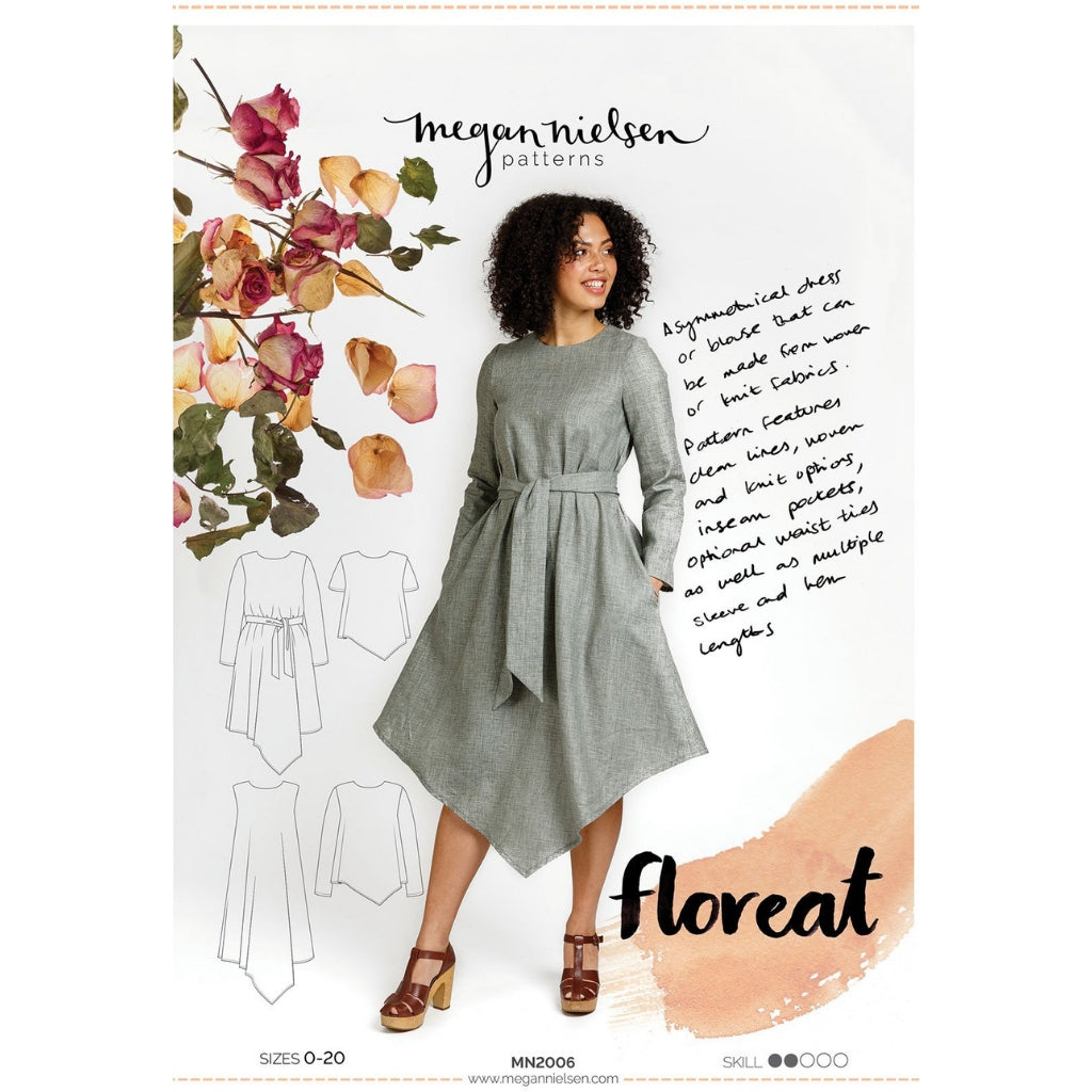 Megan Nielsen Patterns Floreat Dress & Top - Patterns - Style Maker Fabrics