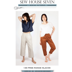 Sew House Seven Free Range Slacks - Patterns - Style Maker Fabrics